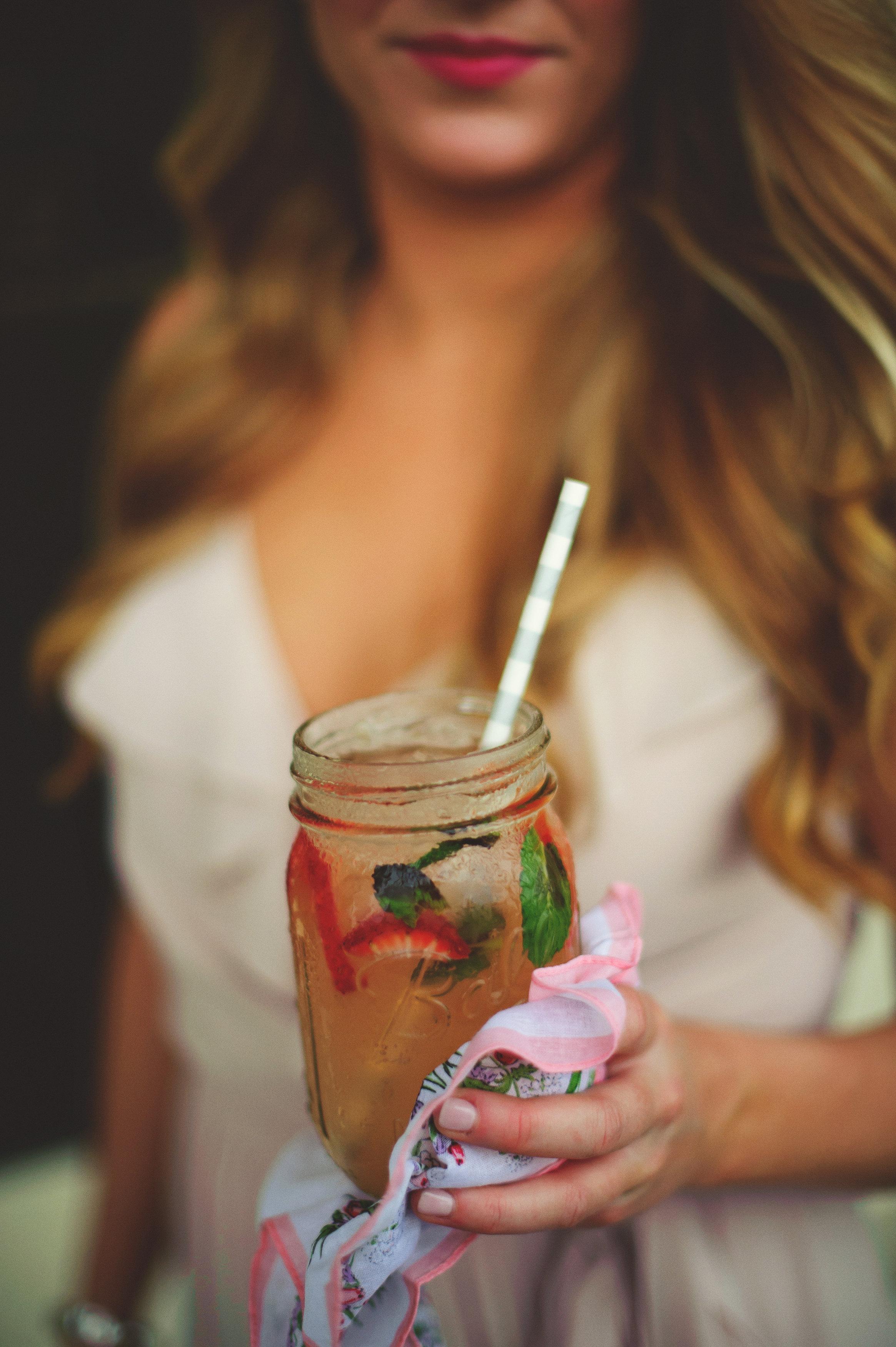 Signature Drink ~ Strawberry Julip Mojitos