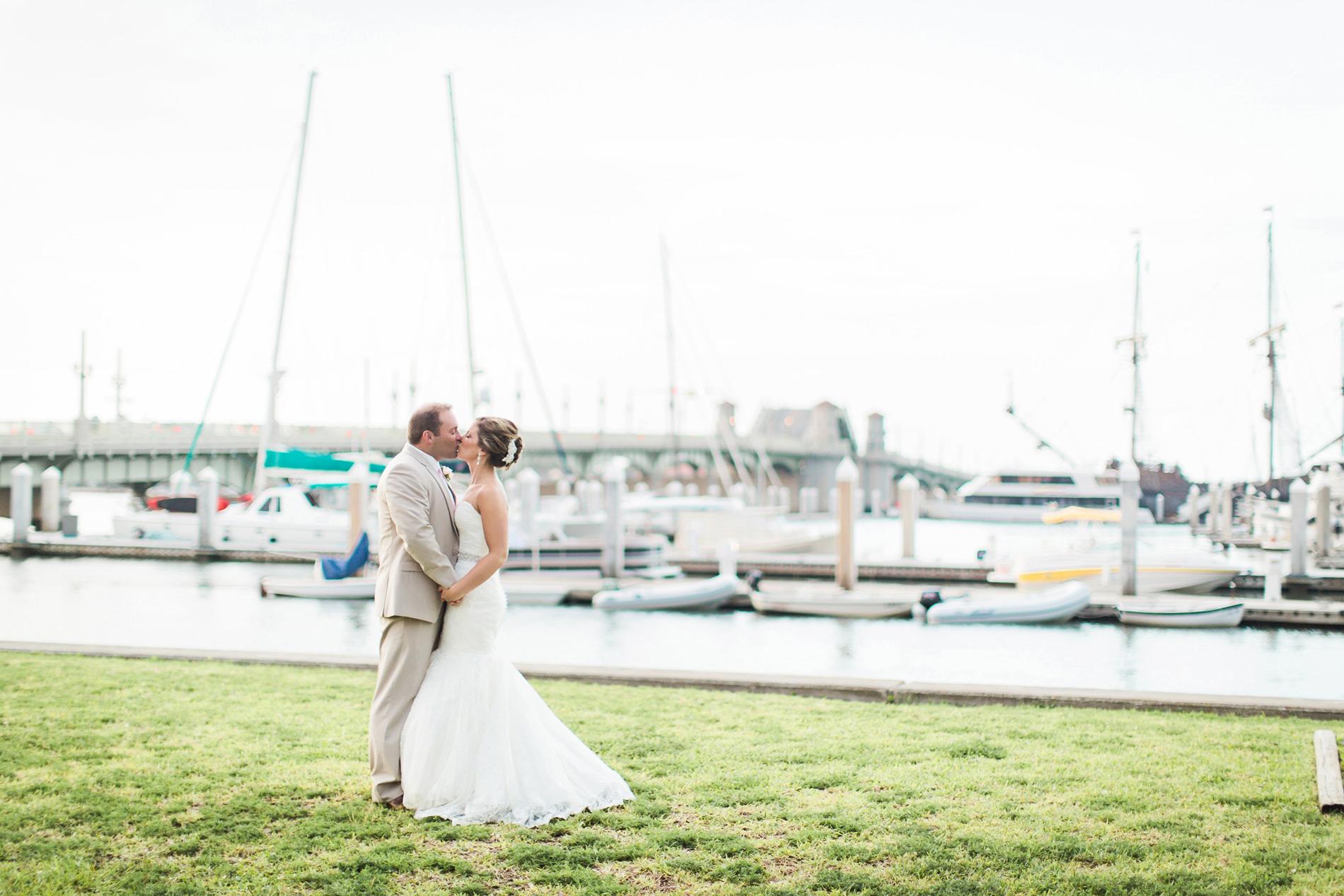 st-augustine-bayfront-bride-and-groom