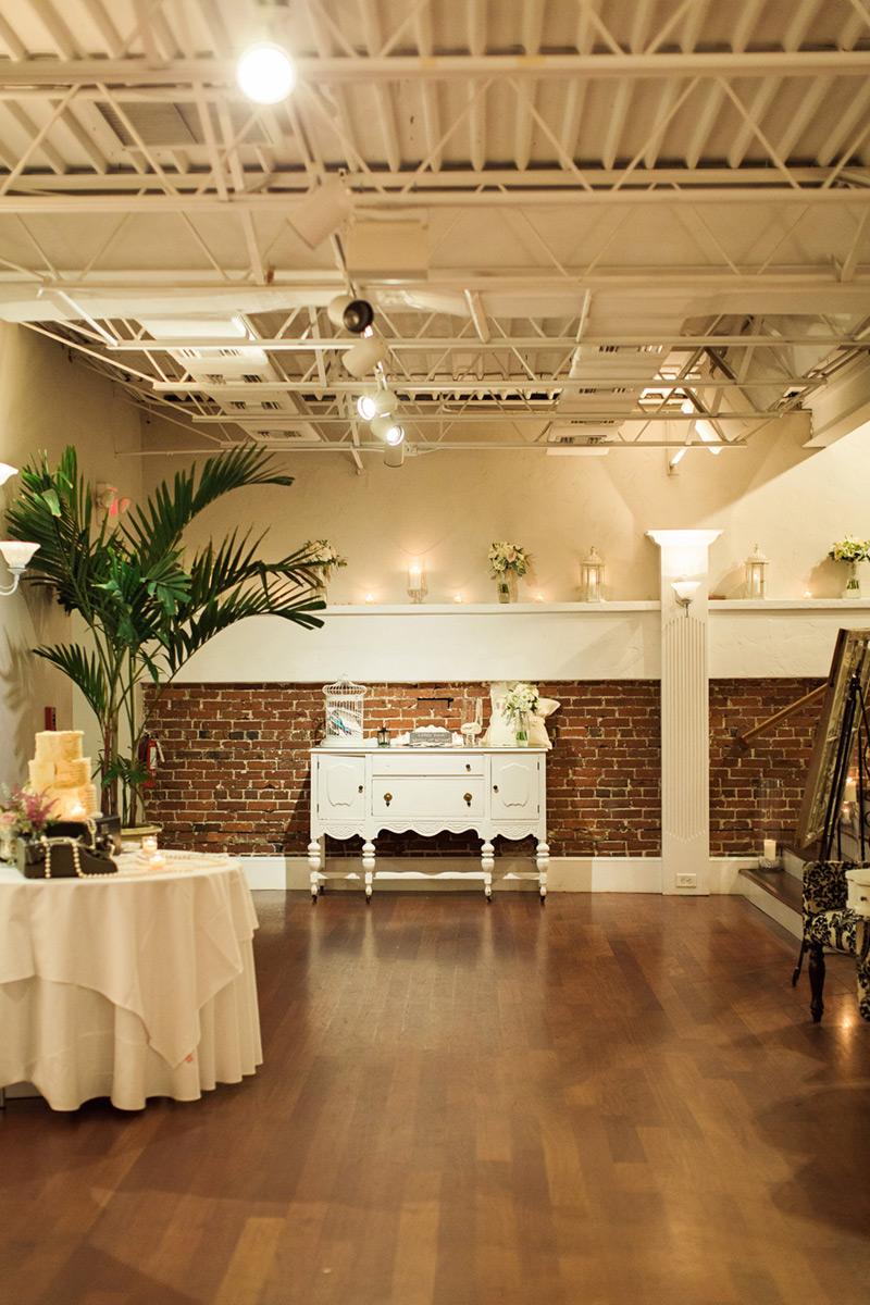 White Wedding Venue