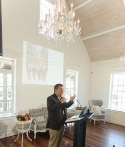 St. Augustine Corporate Meeting Event at The White Room Villa Blanca Room