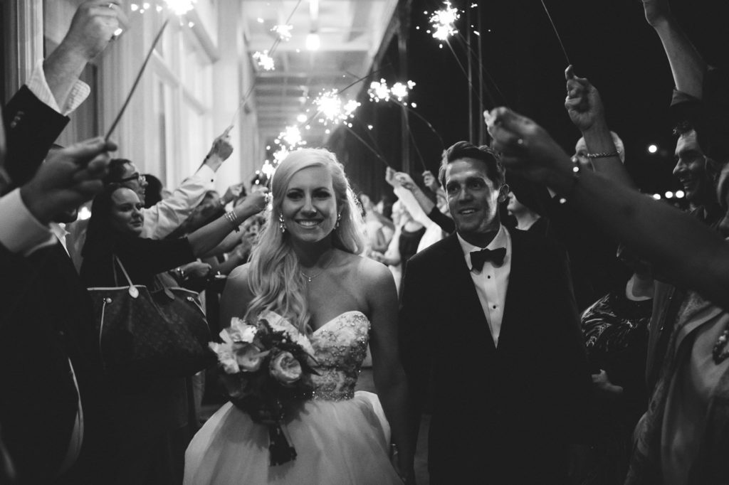 St-Augustine-Wedding-Venues-White-Room-Sparkler-Exit