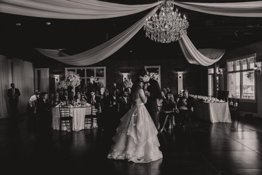 white-room-grand-ballroom-first-dance-st-augustine-florida-bride-groom