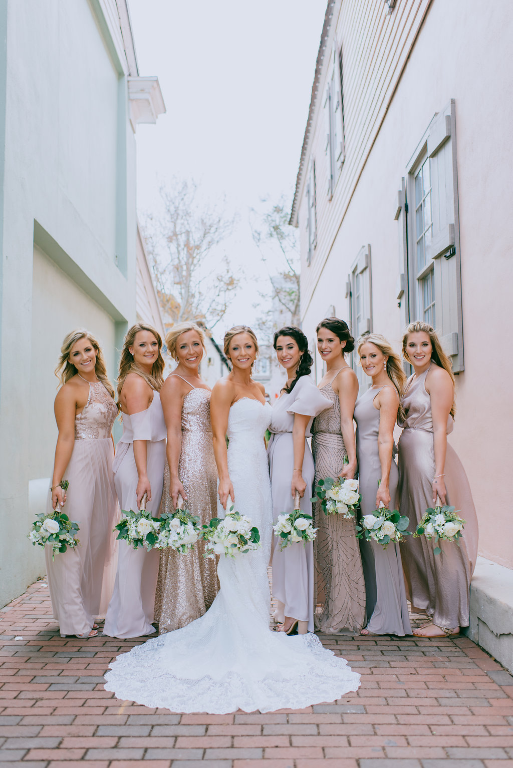 St. Augustine Wedding At The White Room Villa Blanca And