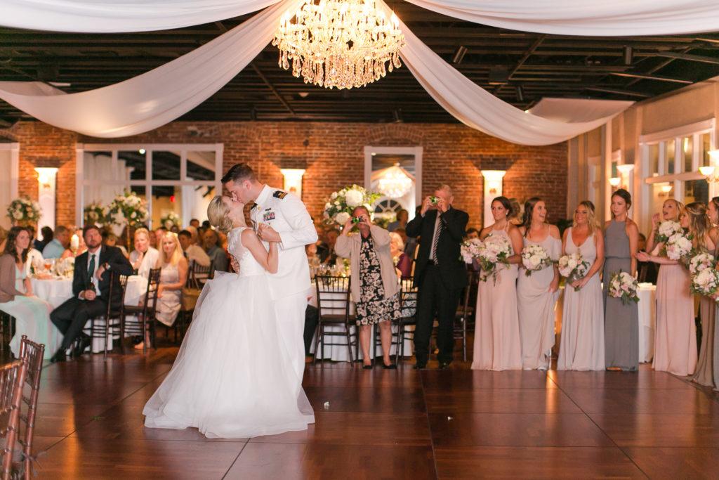 st-augustine-florida-wedding-ballroom-first-dance-bride-groom