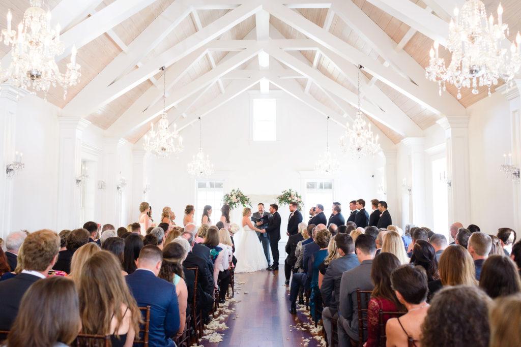 St Augustine Wedding Venues Villa Blanca Ceremony