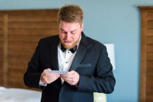 St Augustine Wedding Venue Emotional Groom