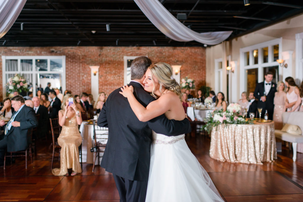 St Augustine Wedding Venues Father Daughter Dance in Ballroom