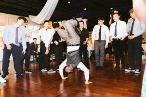 St. Augustine Florida Fun Reception Break Dancing