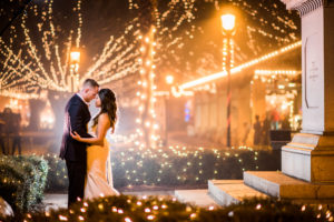 St. Augustine Night of Lights Wedding