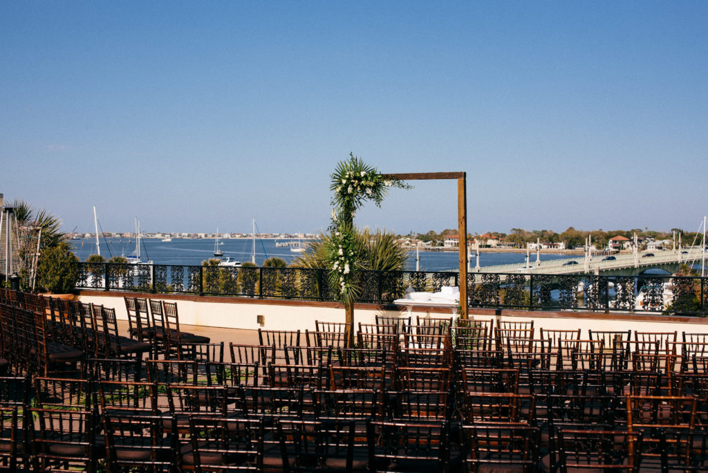 St. Augustine Rooftop Wedding View 3