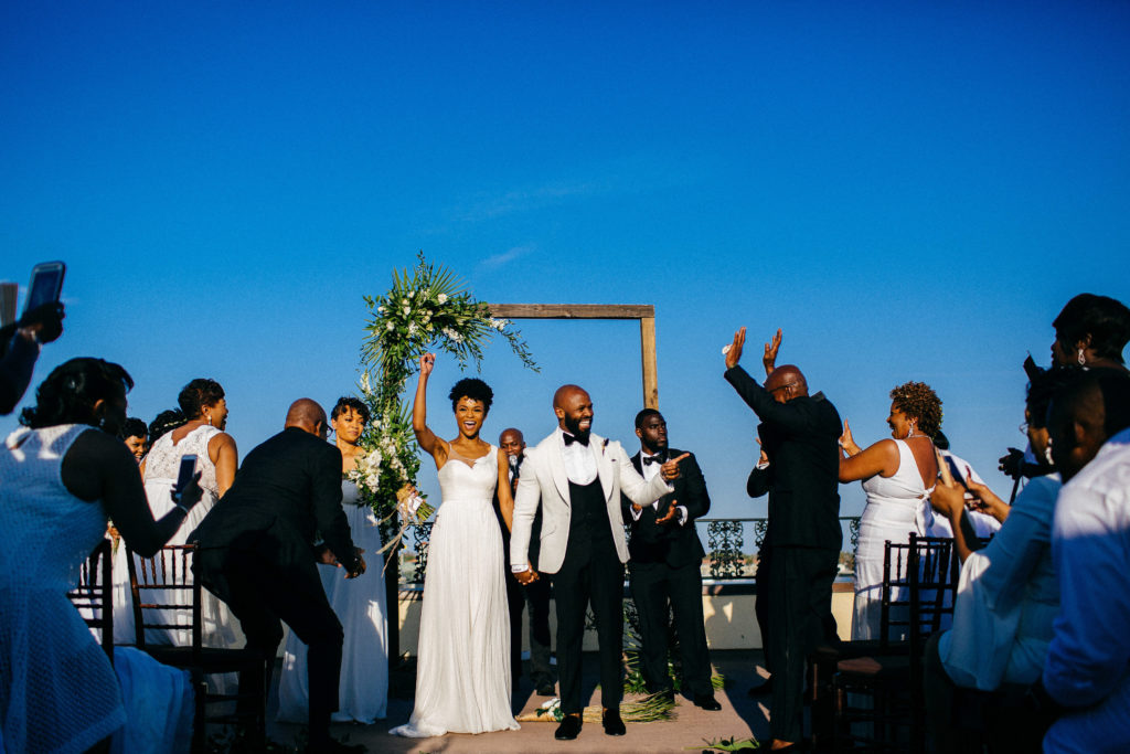 St. Augustine Rooftop Wedding Ceremony 3