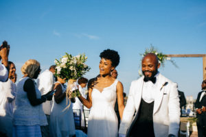 St. Augustine Rooftop Wedding Ceremony 4