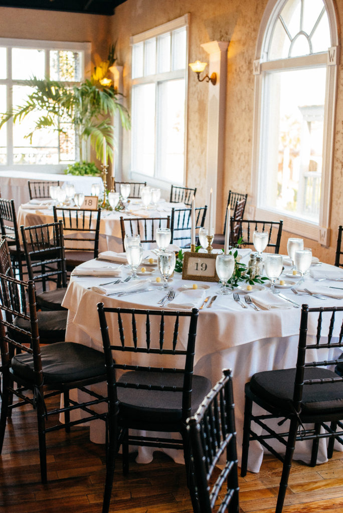 St. Augustine Rooftop Wedding Ballroom Reception 2