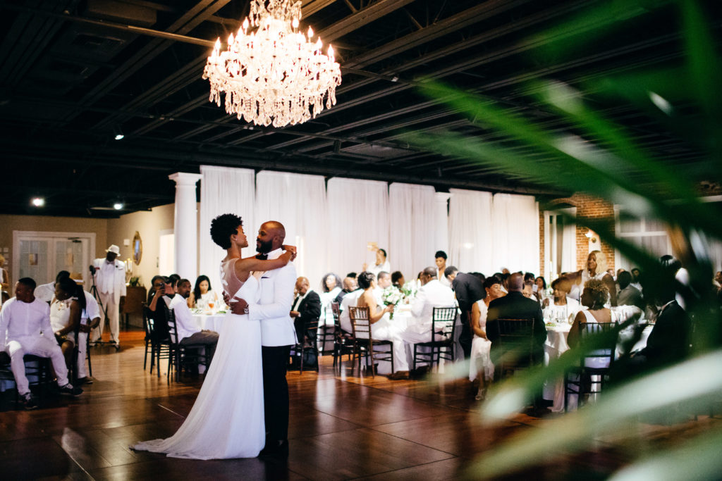 St. Augustine Rooftop Wedding Ballroom Reception First Dance