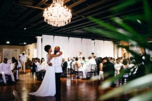 St. Augustine Rooftop Wedding Ballroom Reception First Dance