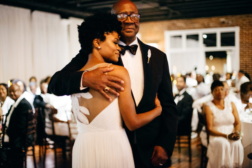 St. Augustine Rooftop Wedding Ballroom Reception Father Daughter Dance