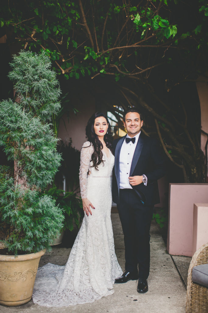 St. Augustine Wedding Villa Blanca Bride and Groom