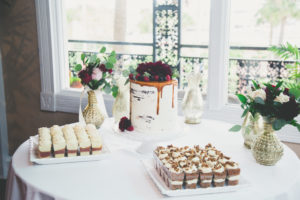 St. Augustine Wedding Cake in Ballroom
