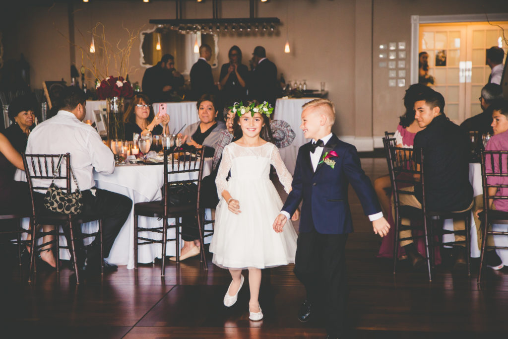 St. Augustine Wedding Flower Girl and Ring Bearer