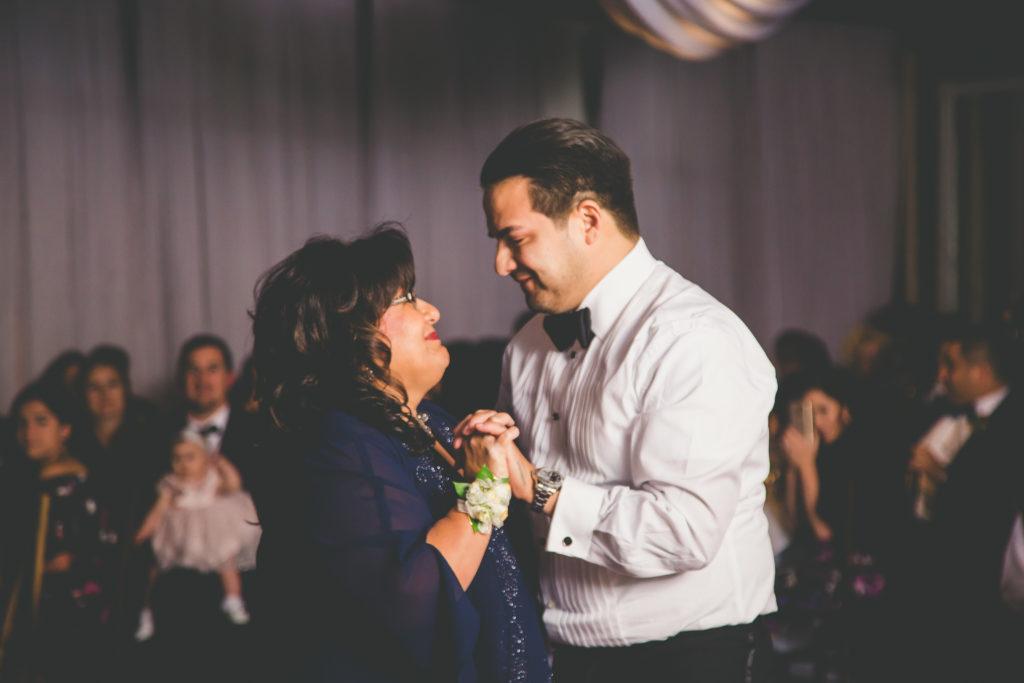St. Augustine Wedding Groom and Mom Dance