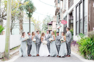 St Augustine Florida Wedding Pre Ceremony Wedding Party