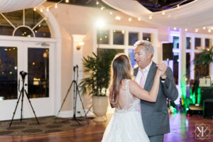 St Augustine Florida Wedding Reception Father Daughter Dance