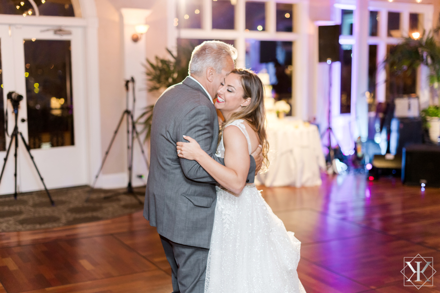 St Augustine Florida Wedding Reception Father Daughter Dance 1