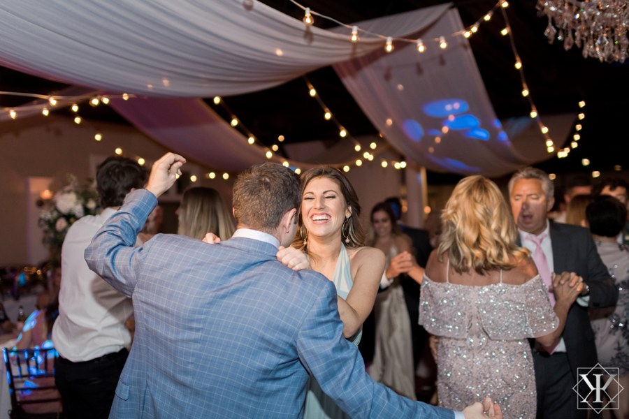 St Augustine Florida Wedding Reception Dancing The White Room