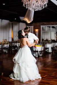 St. Augustine Winter Wedding Ballroom Dance