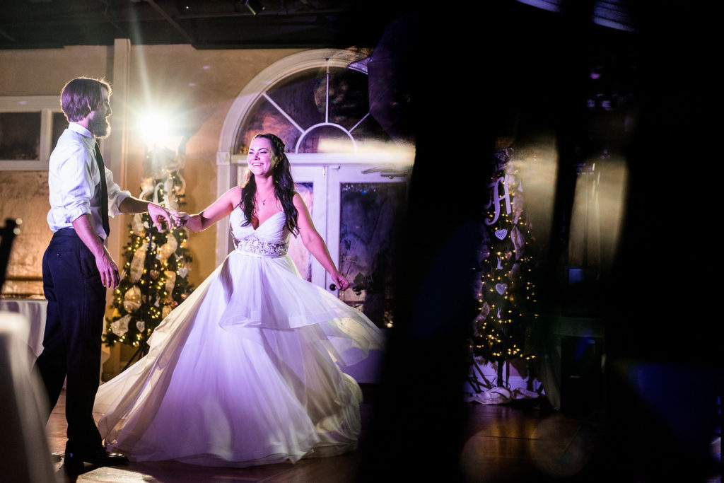St. Augustine Winter Wedding Ballroom