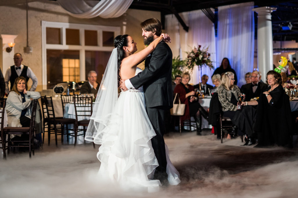 St. Augustine Winter Wedding Ballroom First Dance