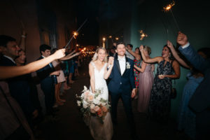 st-augustine-florida-wedding-sparkler-exit-send-off