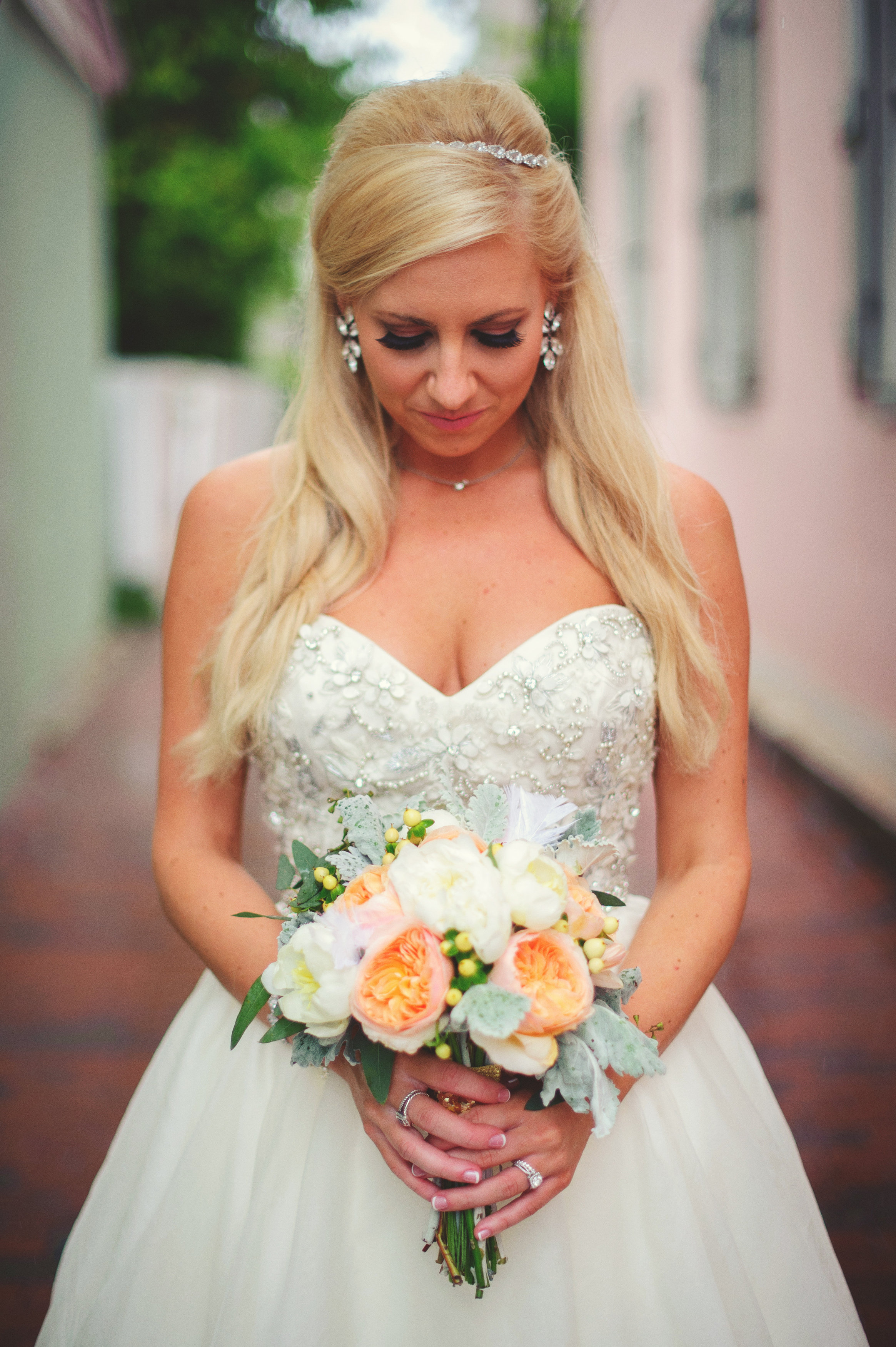 Amberlynn w bouquet 1