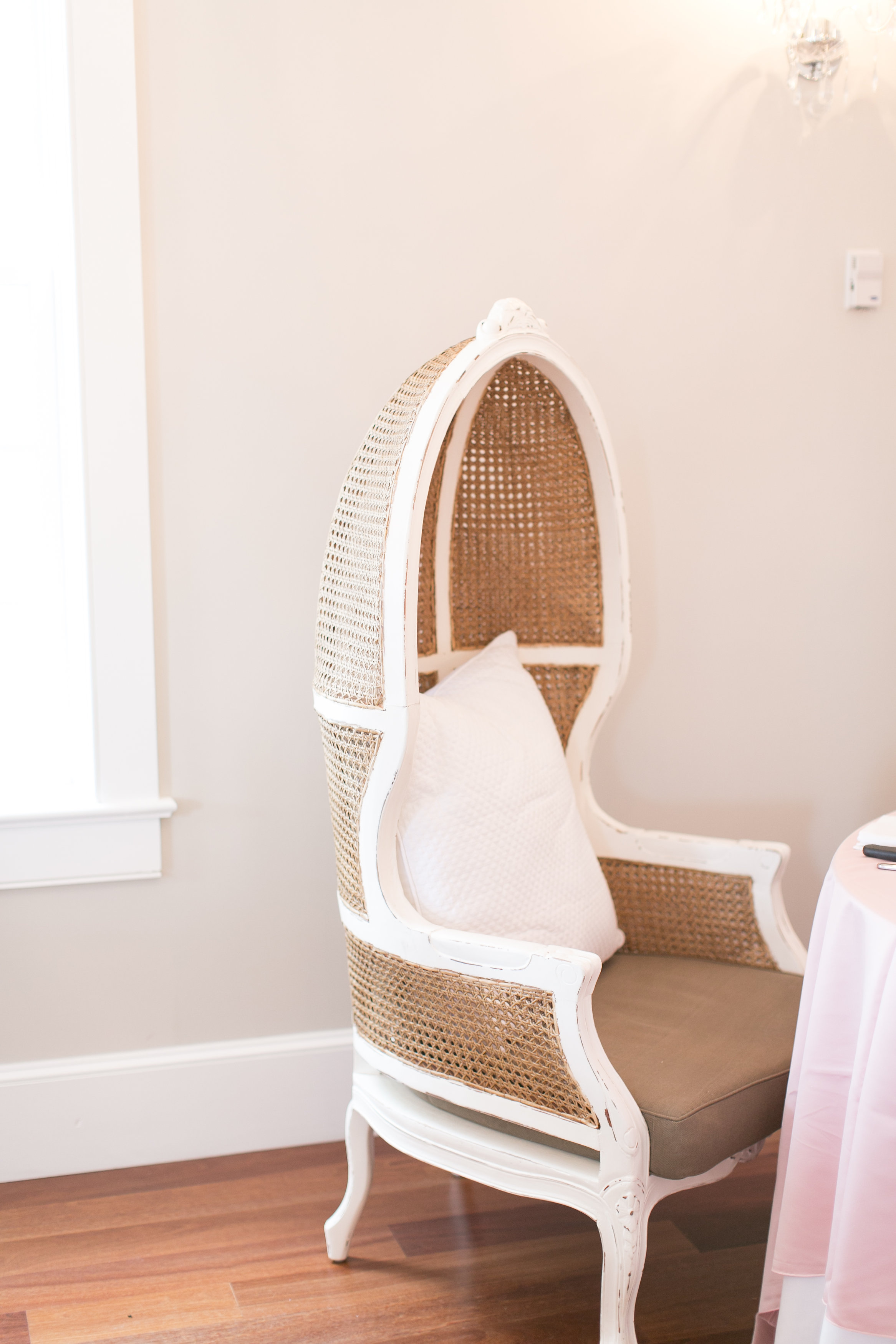 I love our new chairs in The Villa Blanca Reception Room!