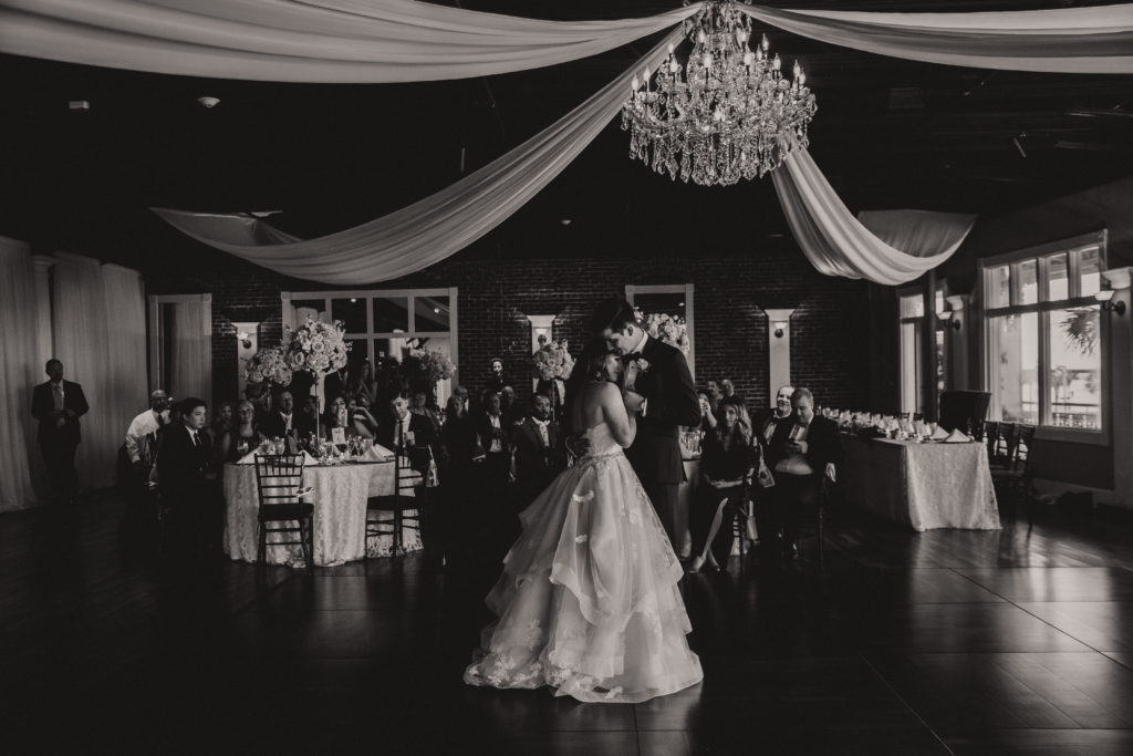 white-room-grand-ballroom-first-dance-st-augustine-florida-bride-groom