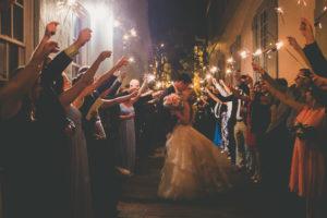 white-room-st-augustine-florida-sparkler-exit-wedding-venue