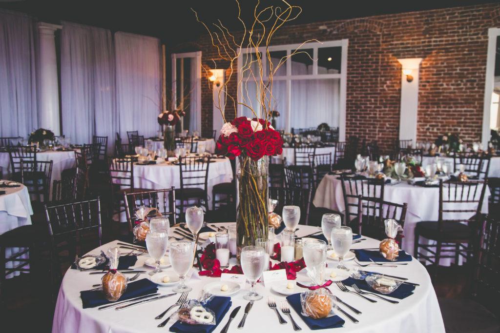 St. Augustine Wedding Reception Decor