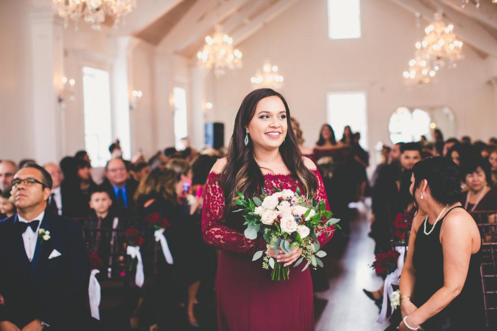 St. Augustine Wedding Bridesmaid