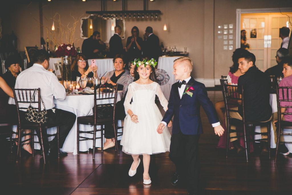 St. Augustine Wedding Flower Girl and Ring Bearer