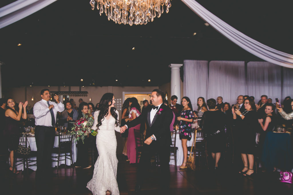 St. Augustine Wedding Bride and Groom Introduction