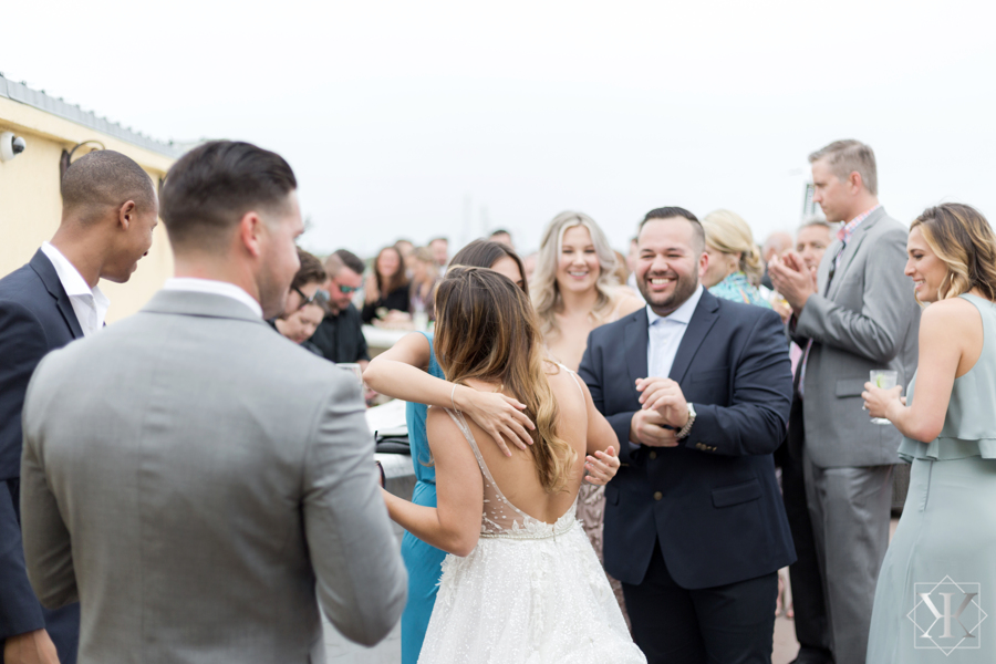 St Augustine Florida Wedding Rooftop Cocktail Hour