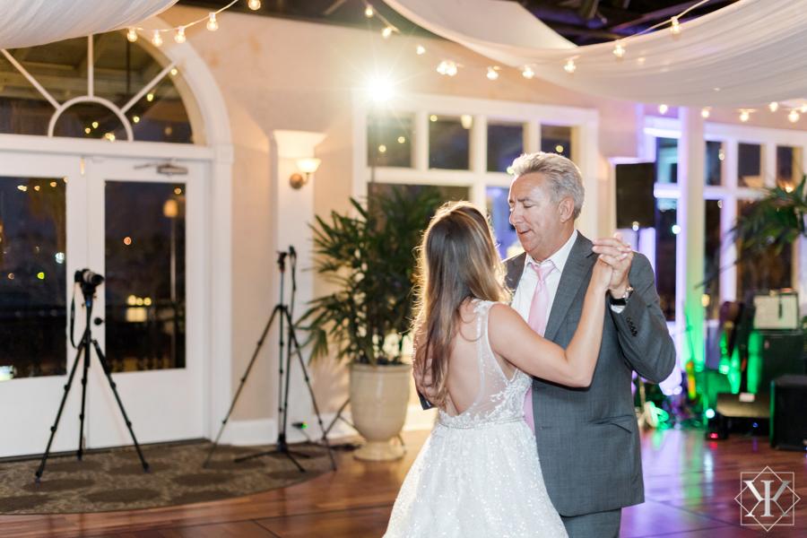 St Augustine Florida Wedding Reception Father Daughter Dance