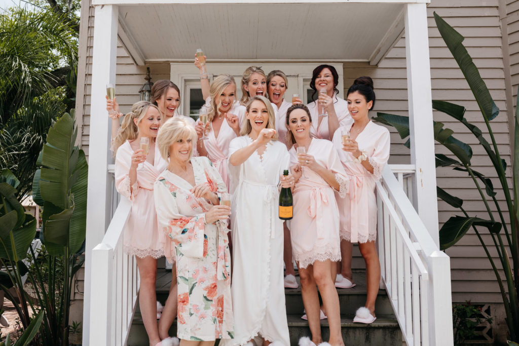 the-white-room-bride-bridesmaid-champagne