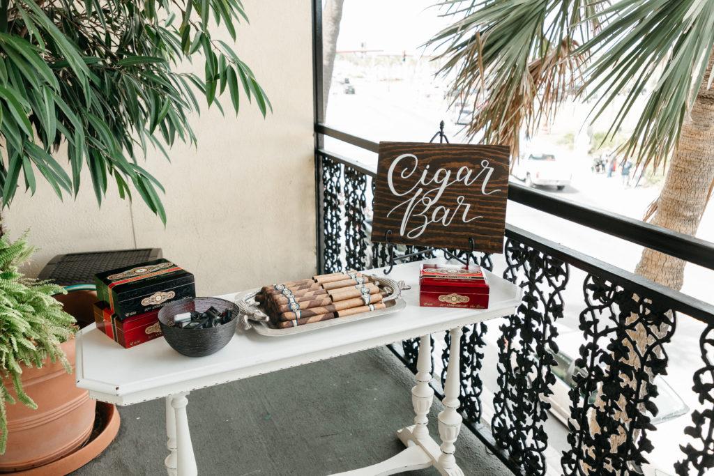 wedding-cocktail-hour-cigar-bar-florida